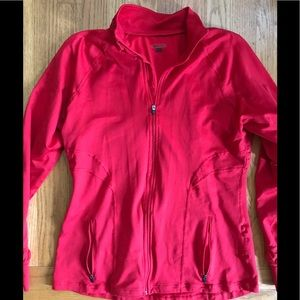 Spanx women's zipper workout coat size L